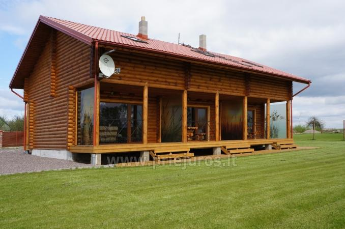 Apartments in log-house in homestead near Palanga - 1