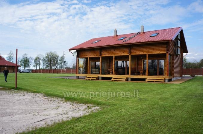Apartments in log-house in homestead near Palanga - 3