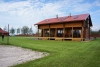 Apartments in log-house in homestead near Palanga