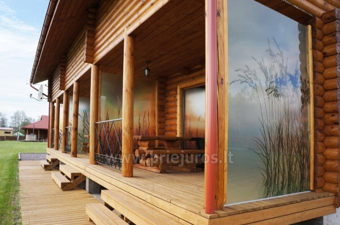 Apartments in log-house in homestead near Palanga - 12