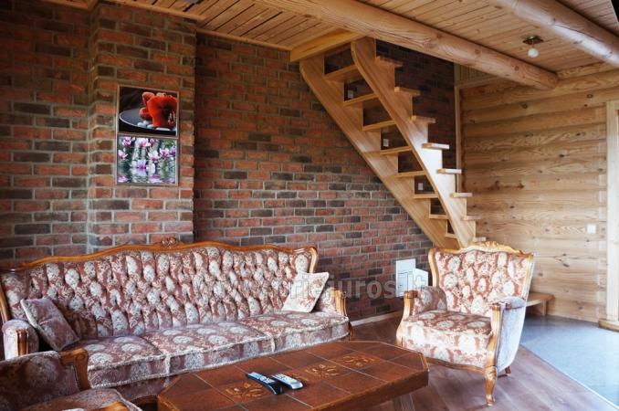 Apartments in log-house in homestead near Palanga - 13