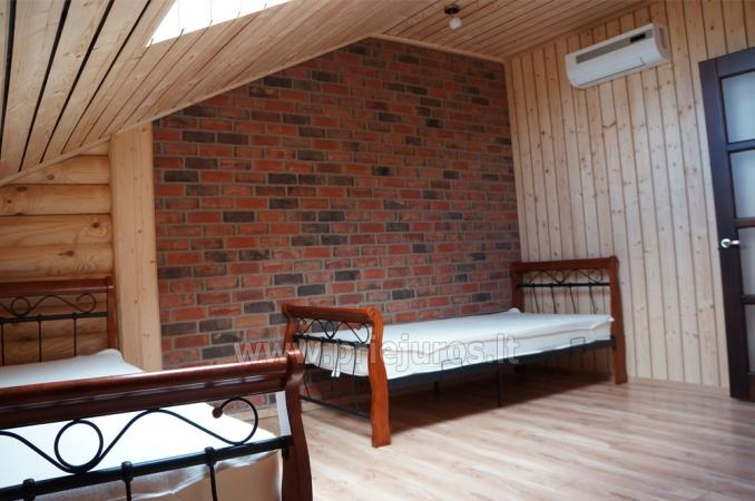Apartments in log-house in homestead near Palanga - 14