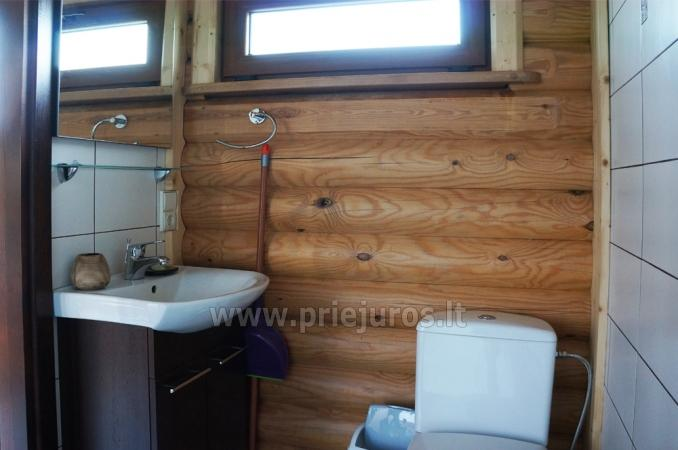Apartments in log-house in homestead near Palanga - 15