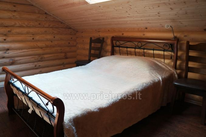 Apartments in log-house in homestead near Palanga - 16