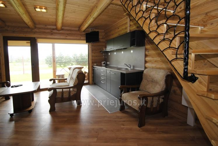 Apartments in log-house in homestead near Palanga - 18