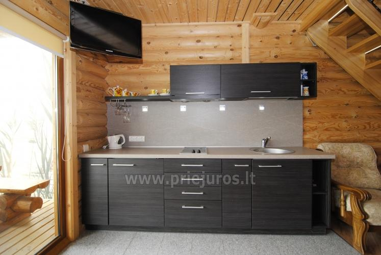 Apartments in log-house in homestead near Palanga - 20