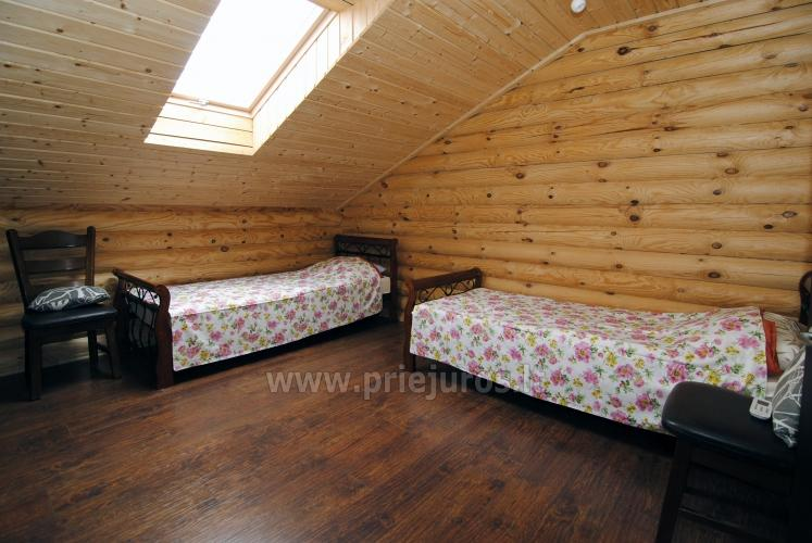 Apartments in log-house in homestead near Palanga - 30