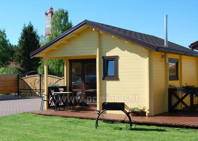 Holiday houses for rent in Sventoji, near the Baltic sea - 1