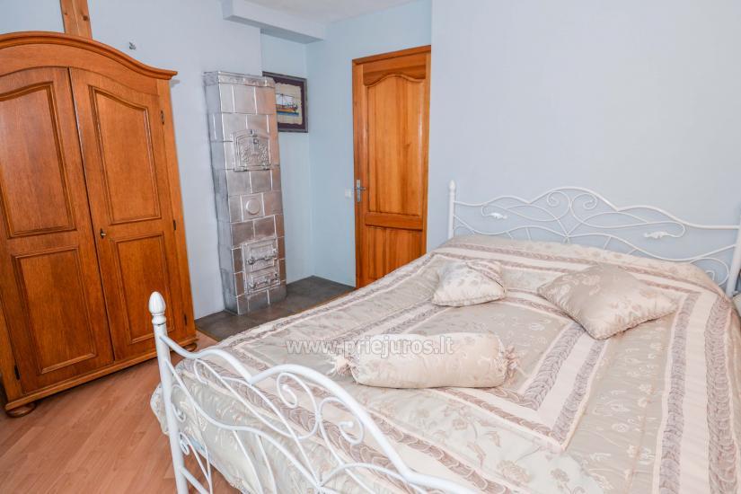 Dviejų kambarių apartamentai Nidoje su kiemeliu, parkavimo vieta - 2