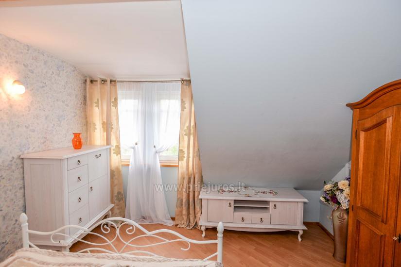 Dviejų kambarių apartamentai Nidoje su kiemeliu, parkavimo vieta - 4