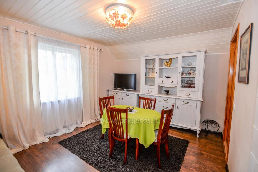 Dviejų kambarių apartamentai Nidoje su kiemeliu, parkavimo vieta - 8