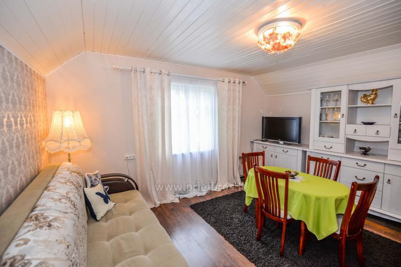 Dviejų kambarių apartamentai Nidoje su kiemeliu, parkavimo vieta - 9