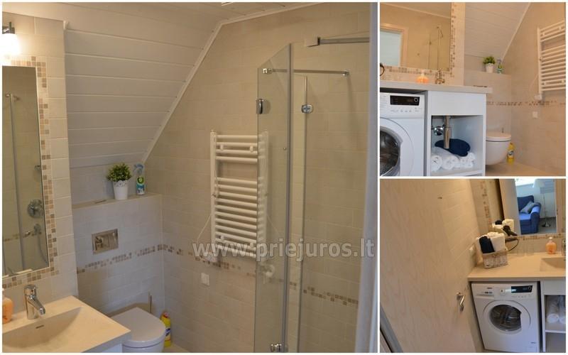 """2 kamb. apartamentai """"Vila Preila"""": yra WiFi, terasos, vaikų kampelis"""