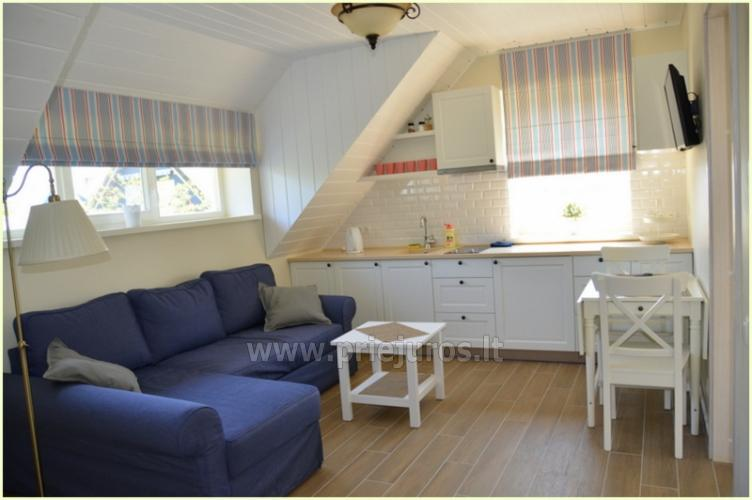 Two rooms apartaments for rent in Preila, Curonian spit, Lithuania - 6