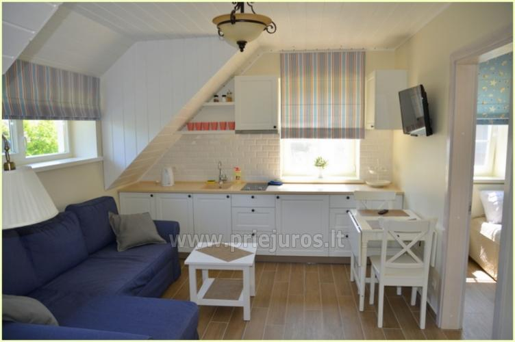 Two rooms apartaments for rent in Preila, Curonian spit, Lithuania - 7