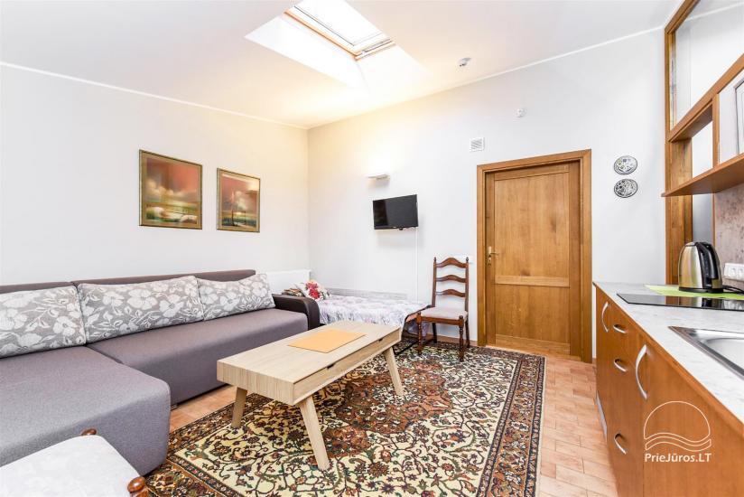 1 kambario butas Palangoje su atskiru įėjimu iš kiemo ir terasa, netoli Botanikos parko - 3