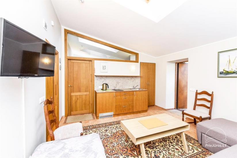 1 kambario butas Palangoje su atskiru įėjimu iš kiemo ir terasa, netoli Botanikos parko - 5