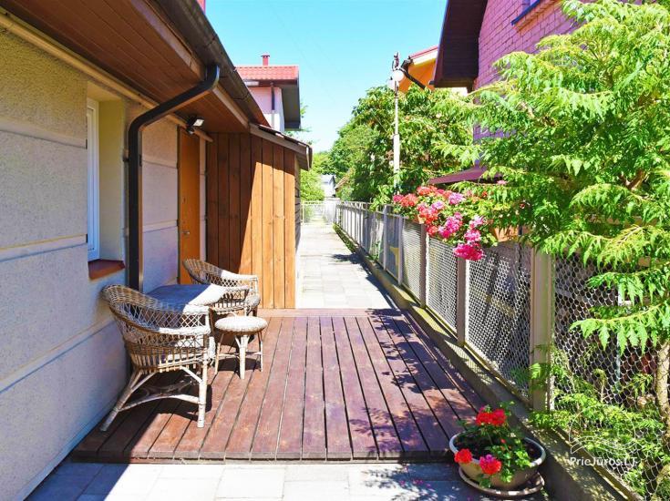 Studijas tipa dzīvoklis ar atsevišķu ieeju Palangā, netālu no Botāniskā parka - 2