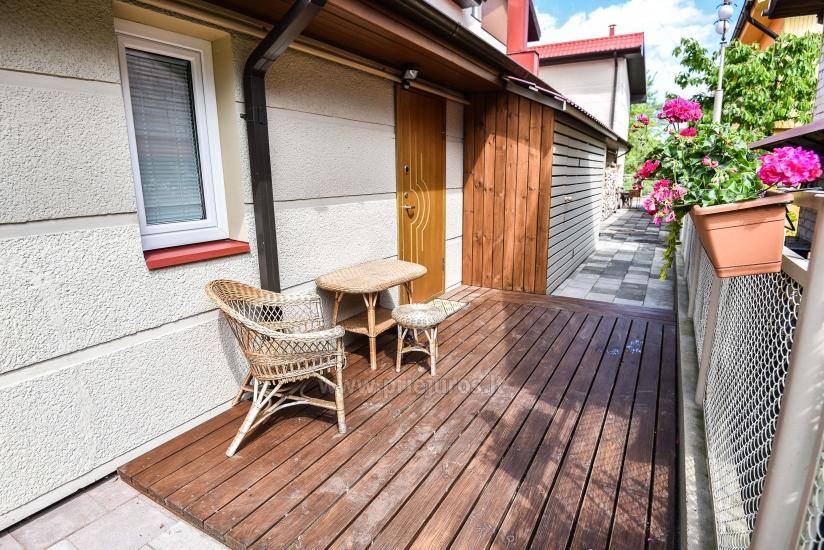 1 kambario butas Palangoje su atskiru įėjimu iš kiemo ir terasa, netoli Botanikos parko - 1