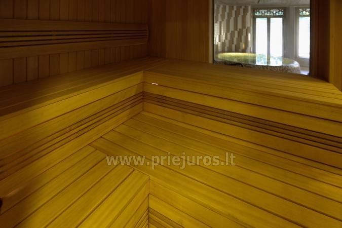 Puikiai įrengti apartamentai Preiloje ant marių kranto. Yra pirtis, sūkurinė vonia! - 10
