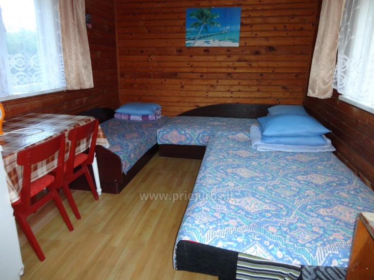 Keturviečiai, penkiaviečiai, šešiaviečiai kambariai bei nameliai Kunigiškiuose - 9