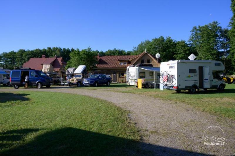 Camping Karklecamp in Klaipeda district at the Baltic sea