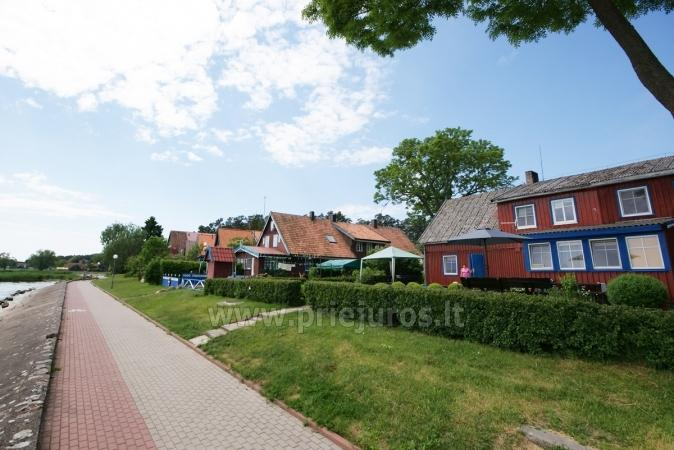 One-room apartment and double room in Nida in a house on the shore of the Curonian lagoon - 3