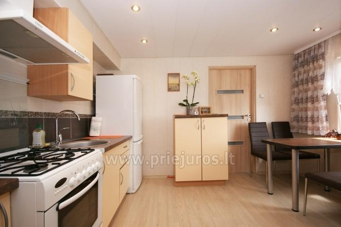 One-room apartment and double room in Nida in a house on the shore of the Curonian lagoon - 4