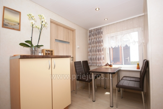 One-room apartment and double room in Nida in a house on the shore of the Curonian lagoon - 5