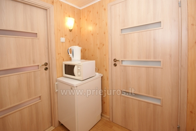 One-room apartment and double room in Nida in a house on the shore of the Curonian lagoon - 7