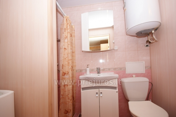 One-room apartment and double room in Nida in a house on the shore of the Curonian lagoon - 8