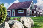 Wooden holiday houses and mobile homes for rent in Sventoji