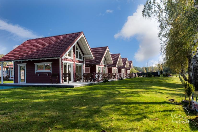 Wooden holiday houses and mobile homes for rent in Sventoji - 15