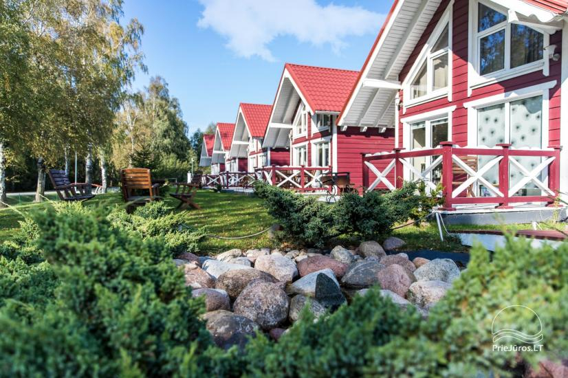 Wooden holiday houses and mobile homes for rent in Sventoji - 17