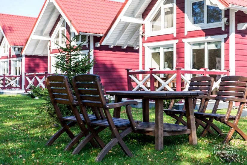 Wooden holiday houses and mobile homes for rent in Sventoji - 18