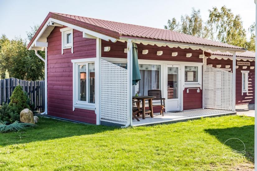 Koka brīvdienu mājas un pārvietojamās mājas īre Sventoji - 42