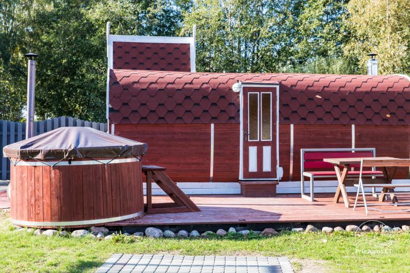 Koka brīvdienu mājas un pārvietojamās mājas īre Sventoji - 45