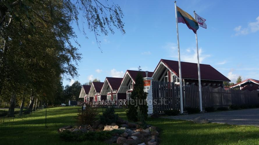 Wooden holiday houses and mobile homes for rent in Sventoji - 1