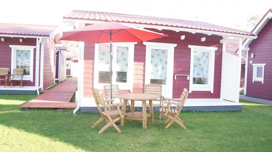 Wooden holiday houses and mobile homes for rent in Sventoji - 8