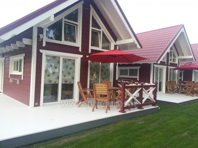 Wooden holiday houses and mobile homes for rent in Sventoji - 9