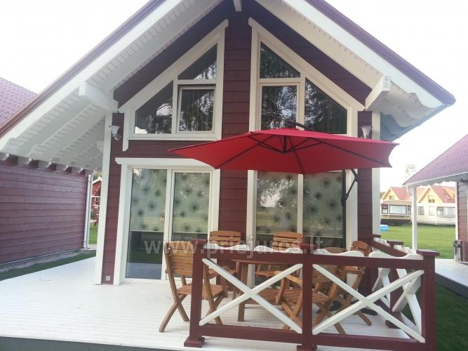 Wooden holiday houses and mobile homes for rent in Sventoji - 10