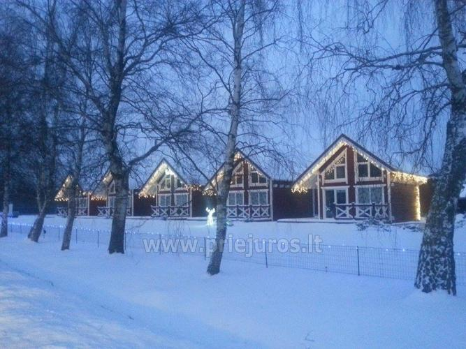 Wooden holiday houses and mobile homes for rent in Sventoji - 14