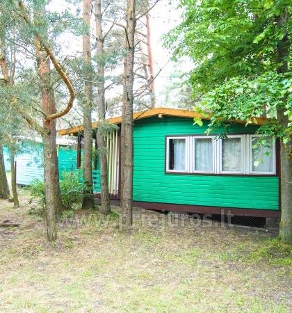 Vasaras mājas ar terasēm Sventoji, pēc upes - 15