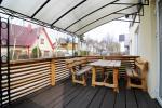 Butų nuoma svečių namuose ALANTA. Naujai įrengti, pirmas aukštas, terasa-kiemelis