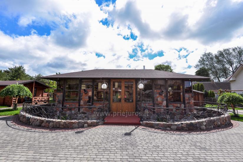 Dziugutis. Zimmer und Holzhäuser zur Miete in Sventoji - 4