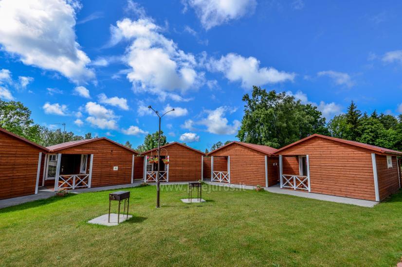 Dziugutis. Zimmer und Holzhäuser zur Miete in Sventoji - 9