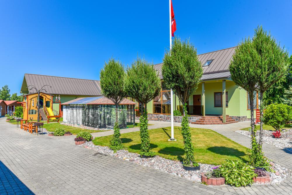 Dziugutis. Zimmer und Holzhäuser zur Miete in Sventoji - 1