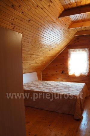 Dviejų aukštų namukas Preiloje Preilius su 3 miegamaisiais (6 asm.) - 7