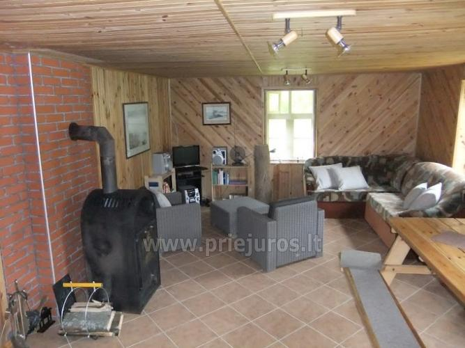 House for rent near the Curonian lagoon between Vente and Kintai - 6