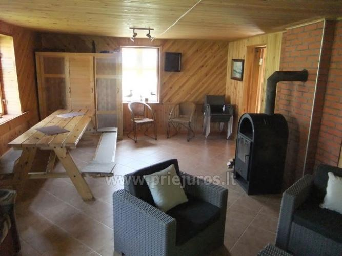 House for rent near the Curonian lagoon between Vente and Kintai - 7